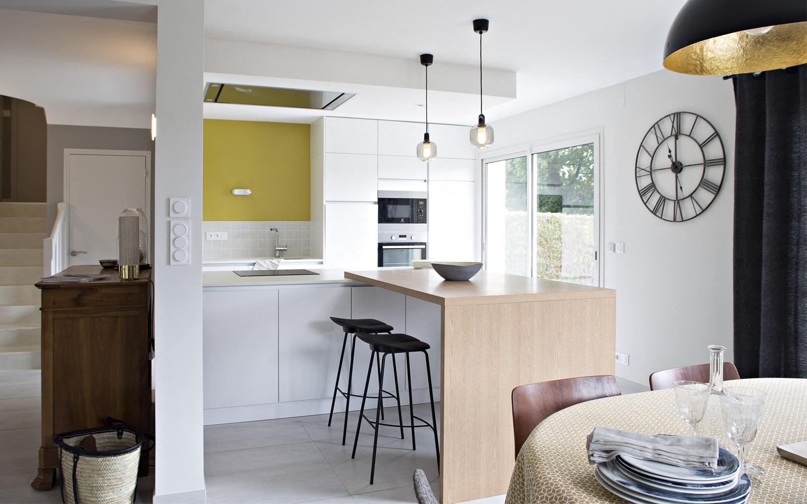 d coration d 39 une maison contemporaine saint gr goire gw naelle hoyet d coratrice d. Black Bedroom Furniture Sets. Home Design Ideas