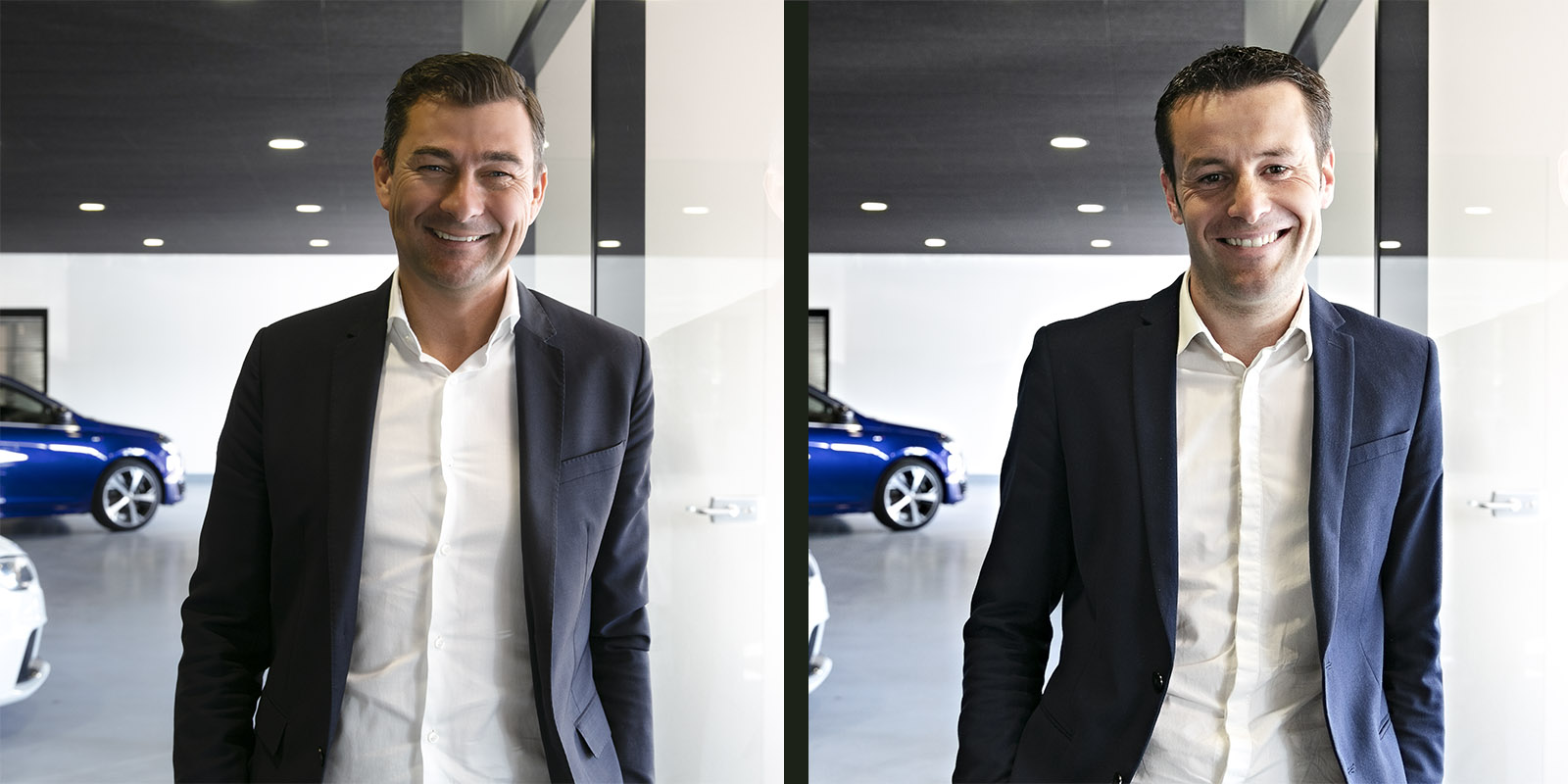 Portrait corporate pour le concessionnaire Guer Automobile