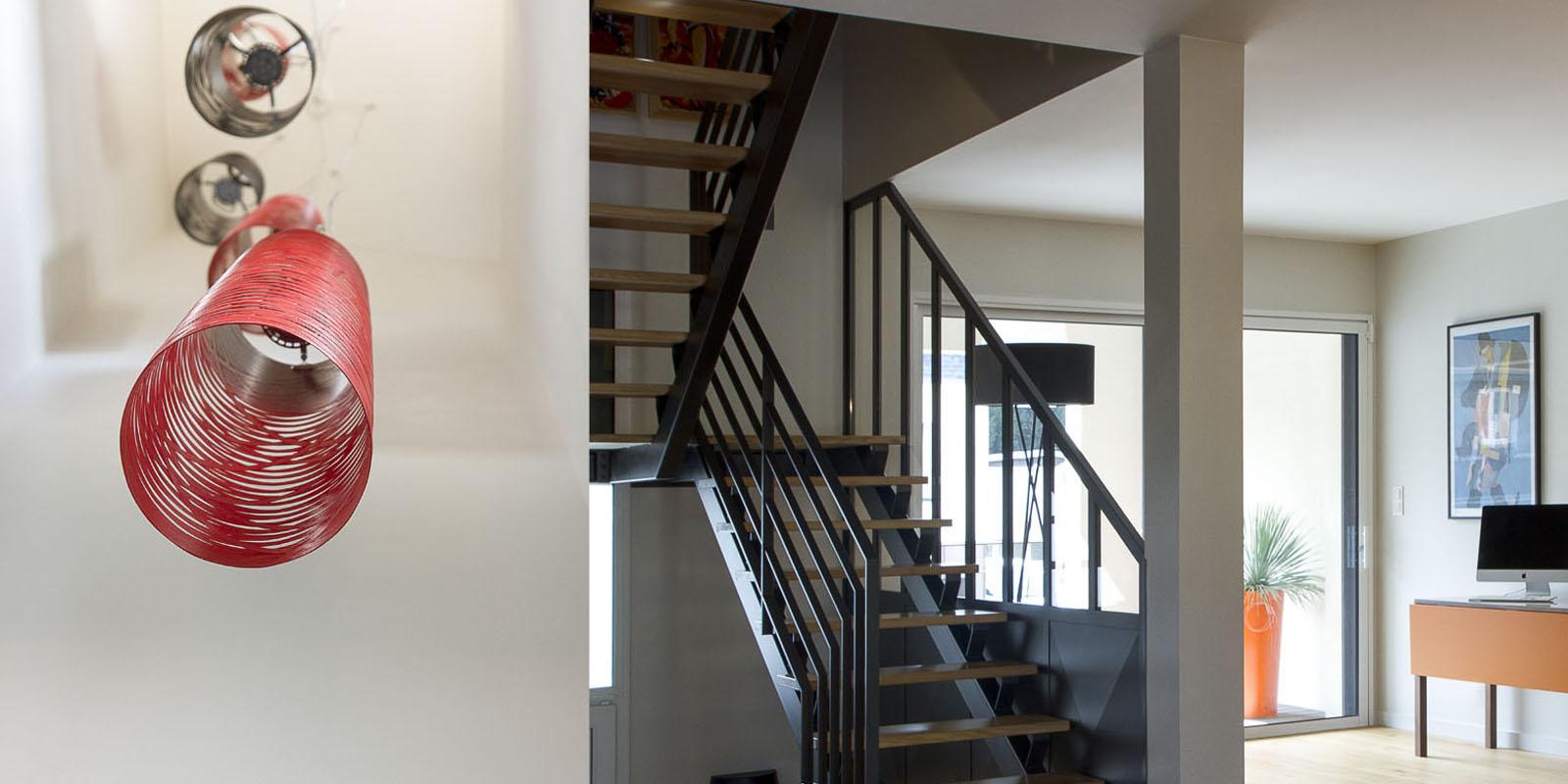 reportage photo d 39 une maison d 39 architecte rennes. Black Bedroom Furniture Sets. Home Design Ideas